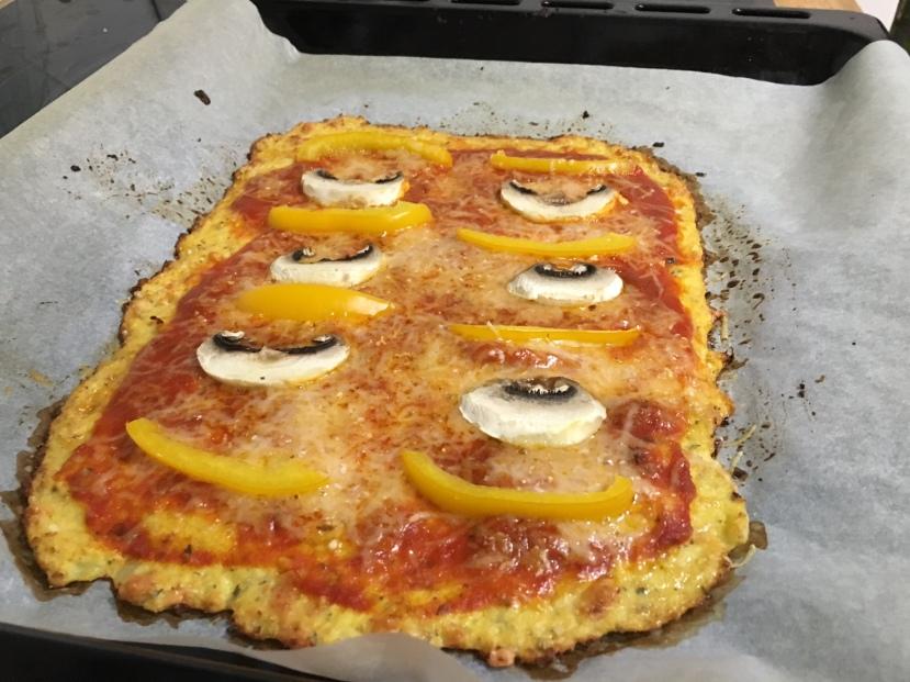 pizza sans farine