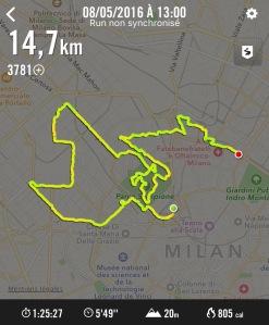 wingsforlife worldrun milan 2016 parcours nike running 14,7km