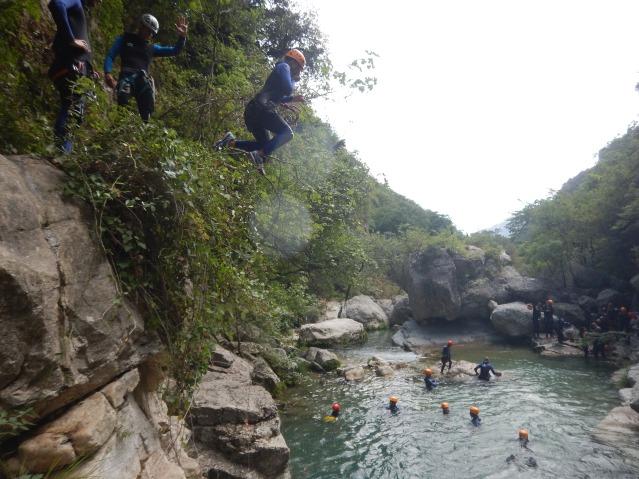 canyoning gorges du loup_happyhealthysimply_11